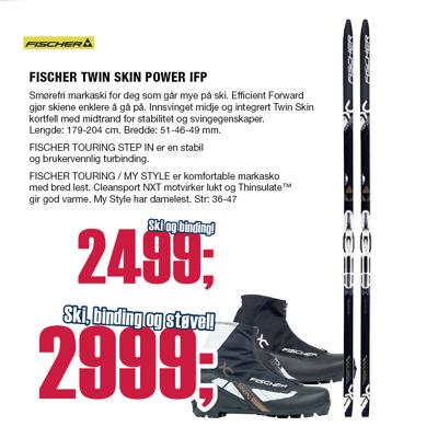 TWIN SKIN POWER EF m/ BINDING