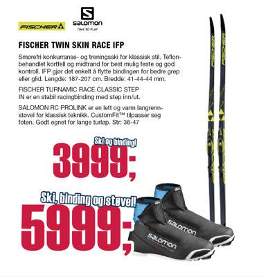 TWIN SKIN RACE SOFT/MED IFP