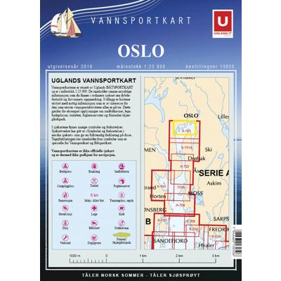 Vannsportkart Oslo