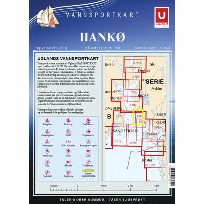 Vannsportkart Hankø
