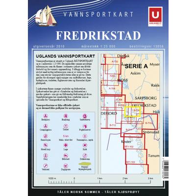 Vannsportkart Fredrikstad