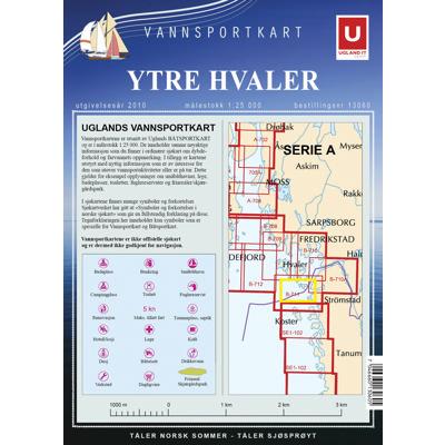 Vannsportkart Ytre Hvaler