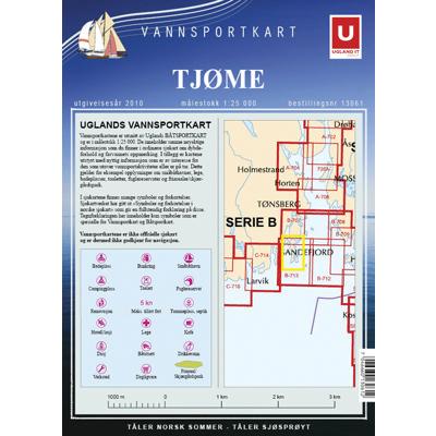 Vannsportkart Tjøme