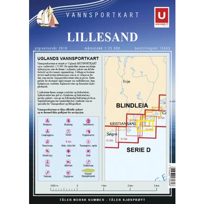 Vannsportkart Lillesand