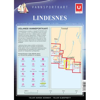 Vannsportkart Lindesnes