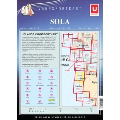 Vannsportkart Sola