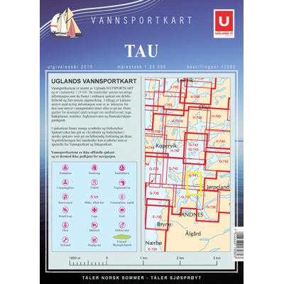 Vannsportkart Tau
