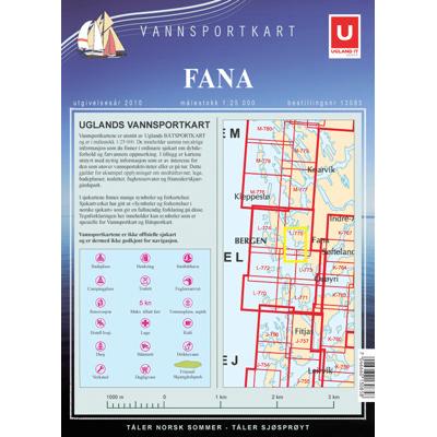 Vannsportkart Fana