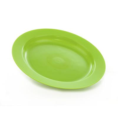 Tallerken Flat grønn