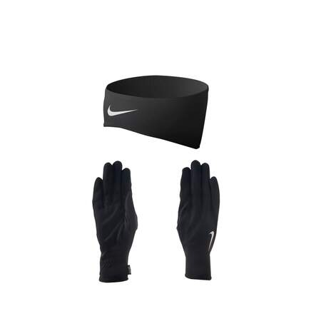 NIKE DRI-FIT WOMEN'S RUNNING HEADBAND/GLOVE SET