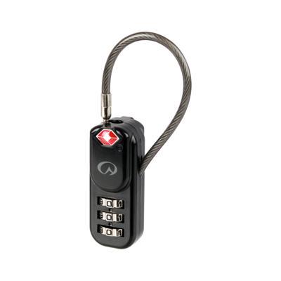 Lås m/kodeTSA Zipper Lock