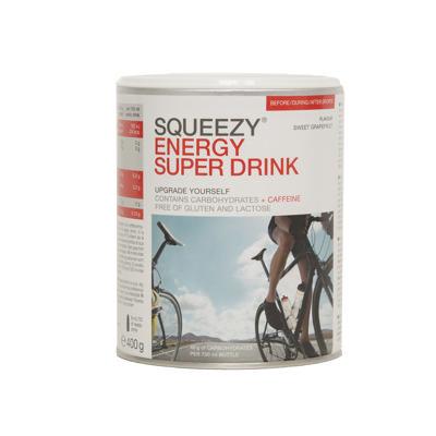 Super Energy Drink 400 g m koffein - søt grapefrukt