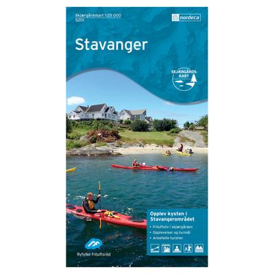 Skjærgårdskart Stavanger