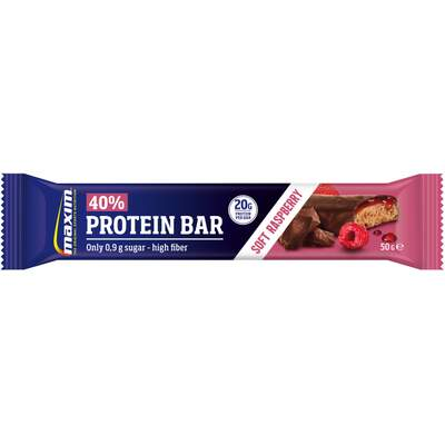 MAXIM 40% PROTEIN BAR RASBERRY