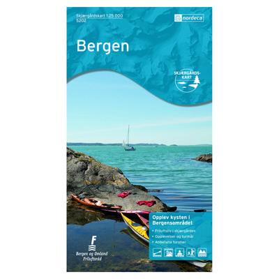 Skjærgårdskart Bergen