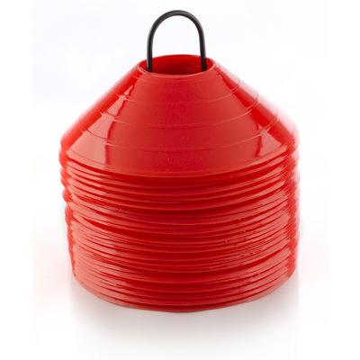Kinahatter - rød