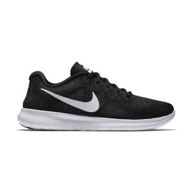 2017 Svart And Hvit Nike Sko Herre Nike Free Trainer 5.0