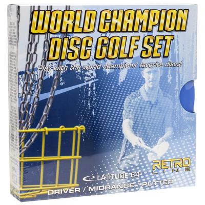World Champ Retro Disc Golf Set