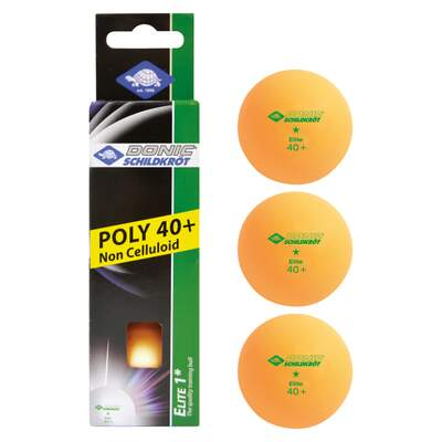 1-Star ball Elite, 3 pcs Orange