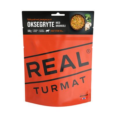 REAL TURMAT Oksegryte med brokkoli 500 gr