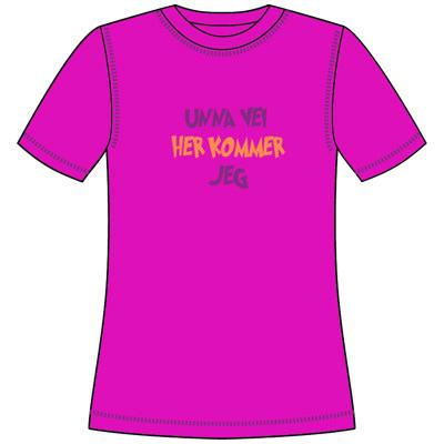 Varde T-shirt m print Mini