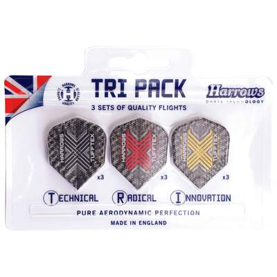 Dart Flights Tufftex, Tri Pack