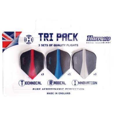 Dart Flights Retina, Tri Pack
