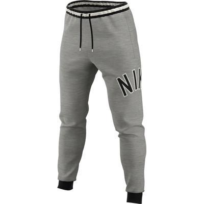 29a8e748 Nike Air Men's Fleece Pants 063/DK GREY HEATHER/BLACK. Komfortabel bukse fra  ...