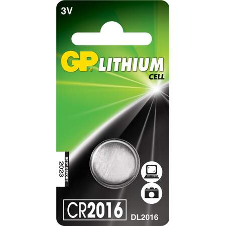 Batteri CR2016 Litium 3V