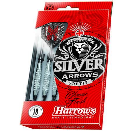 Dart Arrows Silver Arrow Soft 18g