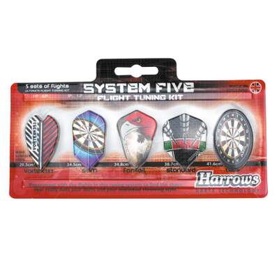 Dart Flights System 5 pack