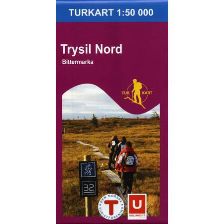 Trysil Nord 1:50 000
