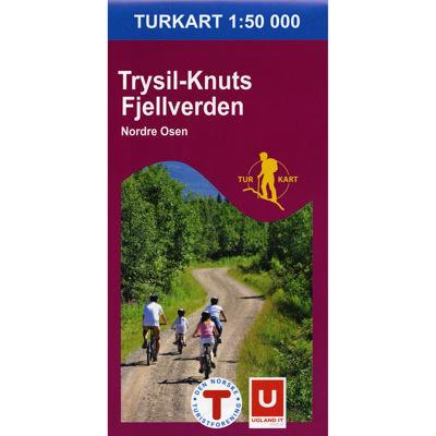 Trysil-Knuts Fjellverden 1:50 000