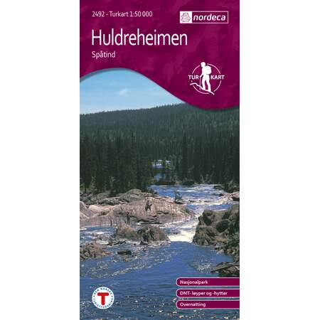 Huldreheimen 1:50 000