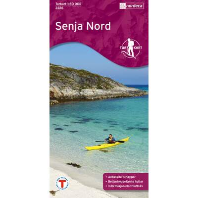 Senja Nord 1:50 000