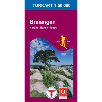 Breiangen 1:50 000