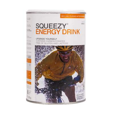 Squeezy Energy Drink 500 g - Appelsin