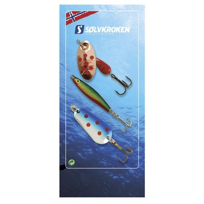 Sluksett fjellfiske 3 pk