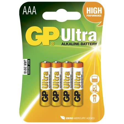 Batteri LR03 ULTRA alkalisk - 4PK