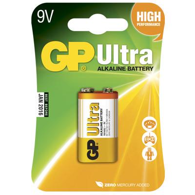 Batteri 6LF22 ULTRAalkalisk 9 v